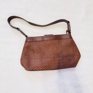 Fossil woven purse